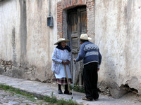 Two old folks meet Mexico